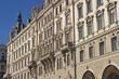 Beautiful facade of a house in Vienna, Austria