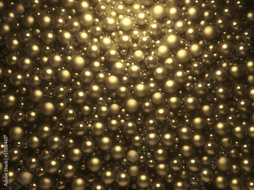 abstract shining pearls background