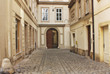 Old alley in Vienna, Austria