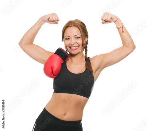 Mid-adult Female Boxer