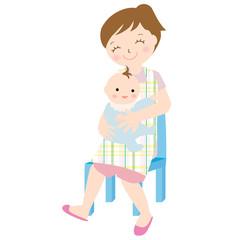 母子 ハグ 抱っこ 赤ちゃん