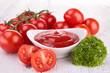 tomato sauce, gaspacho, ketchup