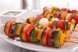 vegetables skewer