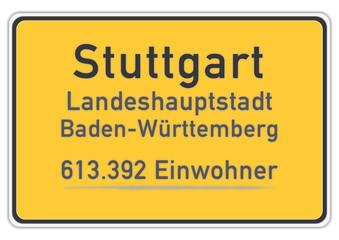Stuttgart 613.392 Einwohner (Stand: 31.12.2011)