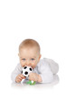Baby mit kleinem Ball - Baby with toy