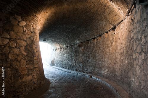 Foto op Aluminium Tunnel Tunnel at Guanajuato (Mexico)