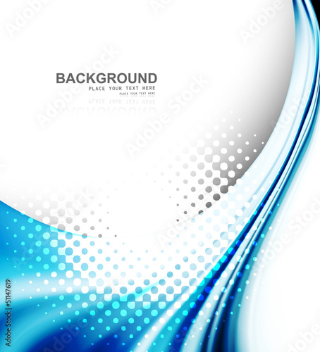 abstract business technology colorful texture blue wave vector