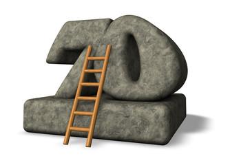 number seventy