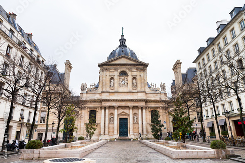 Sorbonne Square in Paris