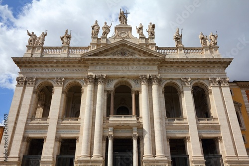 Rome cathedral - Basilica of Saint John Lateran