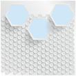Vector abstract background Hexagon. Web Design