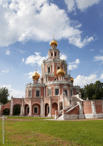 Moscow. The Church of the Intercession of the Mother of God