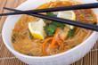 thai soup close-up