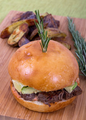 filet mignon burger