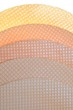 Round wafer background texture