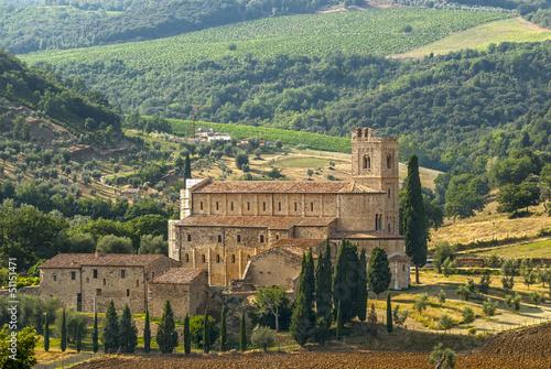Sant'Antimo (Tuscany) © Claudio Colombo