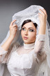 young woman is bride