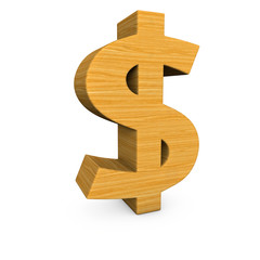 Wooden Dollar