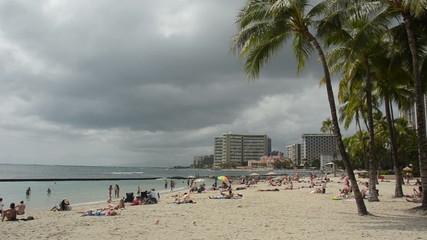 Waikiki Beach in Honolulu Hawaii