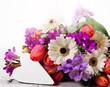 Alles Liebe: Herzlicher Blumengruß
