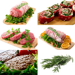 meats  collage