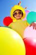 Kind mit Balloons