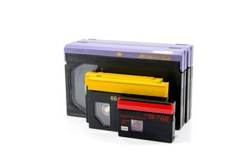 Video Cassettes (Betacam, DVCPRO, MiniDV)