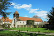 An English Village Church and Manor