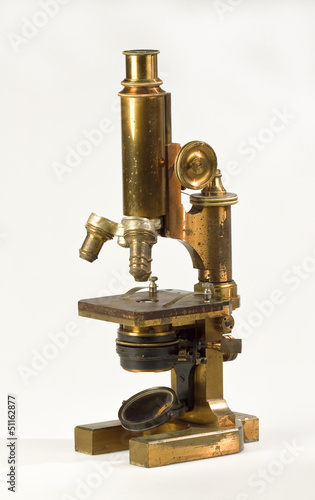 Old microscope