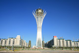 Baiterek - the symbol of the capital, Astana.