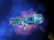 Raumstation im Weltall