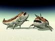 Alien Planet with Alien Creatures