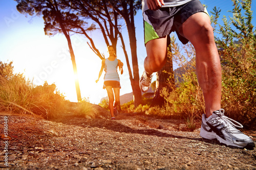 healthy trail running - 51168449