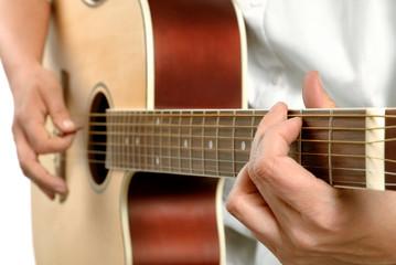 Westerngitarre spielen