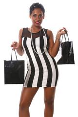Caribbean girl does her shopping