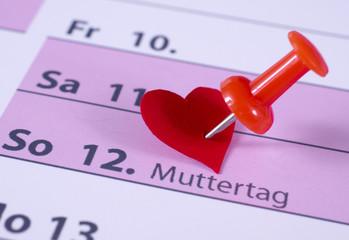 Muttertag – Kalender