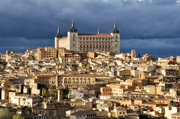 Vista del Alcázar de Toledo (España)