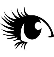 目のイラスト素材