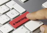 e-learning vermell Keyboard key Finger