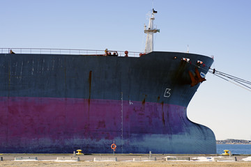 Bulk carrier bow