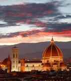 Florence cathedral in Tuscany, Italy