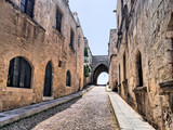 Medieval Avenue of the Knights, Rhodes, Greece
