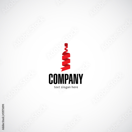 Wine business company logo