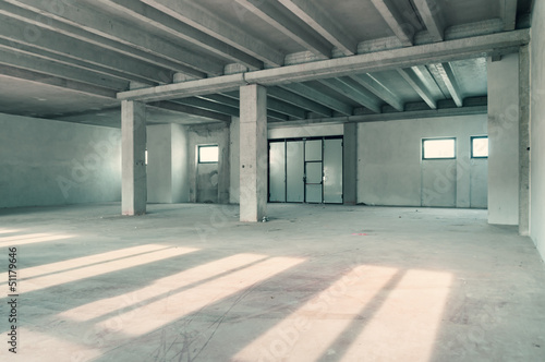 industrial warehouse room