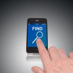 Find App für Touch Smartphone