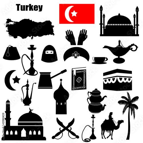 Turkey symbols