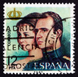 Postage stamp Spain 1975 Queen Sofia and King