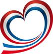 Logo love heart stripe