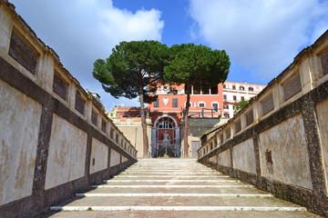 Palazzo Barberini - Rampa dei giardini