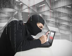 Hacker and password